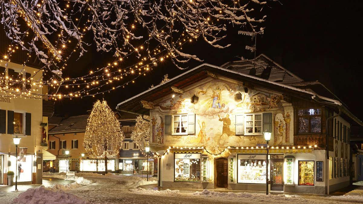 Klettersteigset Leihen Garmisch Partenkirchen : Garmisch partenkirchen advent am fuß der zugspitze gastro